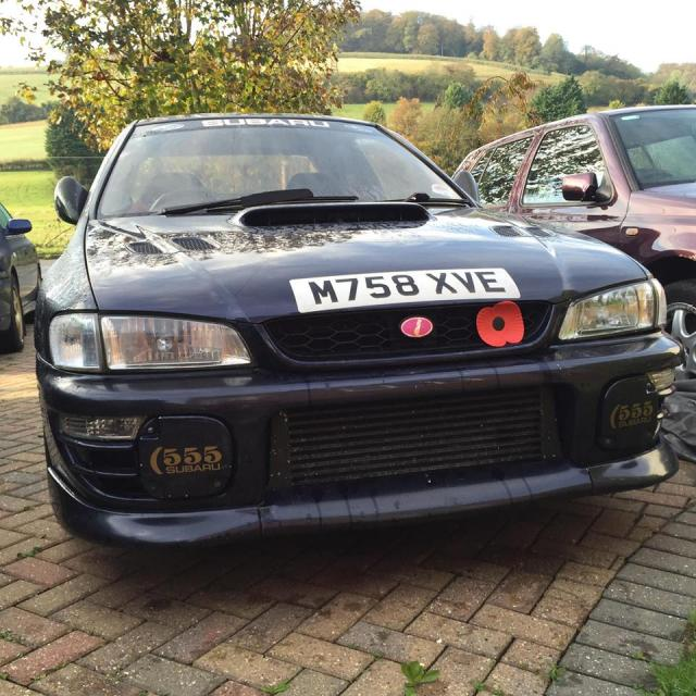 Subaru Impreza was stolen tonight in High Wycombe, Bucks
